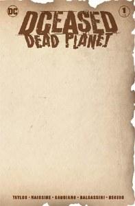 DCeased Dead Planet #1 Blank