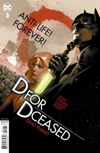 DCeased Dead Planet #3 Movie Variant