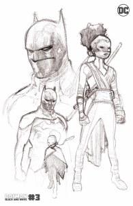 Batman Black and White #3 2nd Ptg