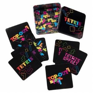Tetris 10 pc Coaster Set