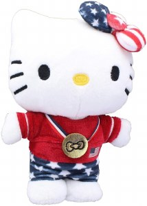 Hello Kitty Team USA Olympian 6 In Plush Doll