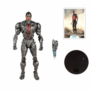 DC Multiverse Zack Snyders Justice League Cyborg Action Figure