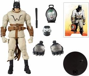 DC Multiverse Batman Last Knight on Earth Batman Action Figure w/ Bane Piece