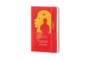 Game of Thrones Small Lannister Lion Notebook
