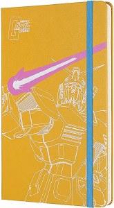 Gundam Yellow Moleskine HC Ruled Notebook