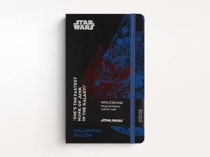 Star Wars Millenium Falcon Moleskine Ruled Notebook