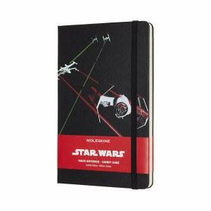 Star Wars Tie Fighter Black Notebook