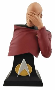 Star Trek: The Next Generation Picard Facepalm Ltd Ed Bust SDCC2020