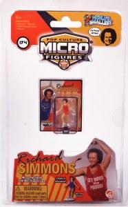 Worlds Smallest Richard Simmons Figure