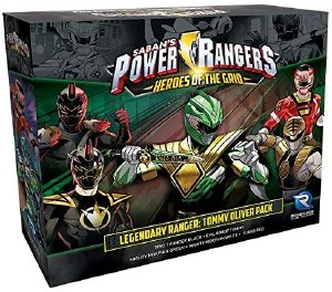 Power Rangers Heroes of the Grid Legendary Ranger Tommy Oliver Pack
