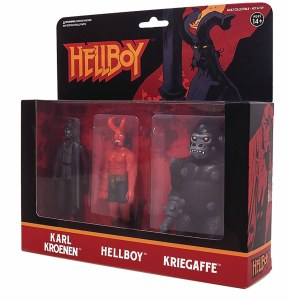 Hellboy ReAction Figures AF 3Pk Pack A