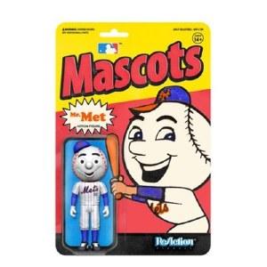 MLB Mascots New York Mets Mr. Met ReAction Figure