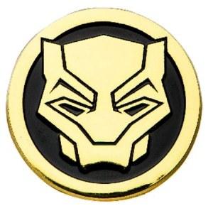 Black Panther Enamel Logo Pin