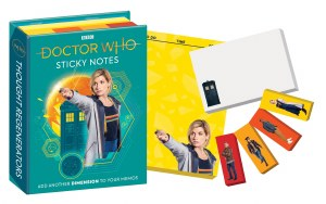 Doctor Who 13th Doctor Sticky Notes