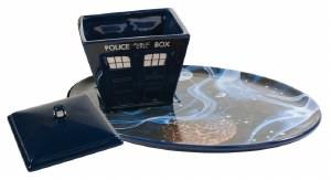 Doctor Who Tardis Soup and Sandwich