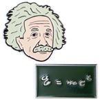 Albert Einstein Pin Set