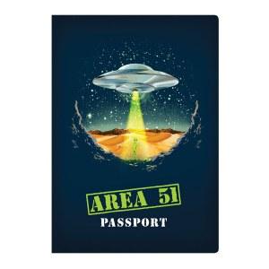 Area 51 Passport Pocket Notebook