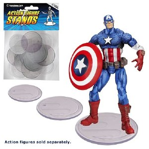 Entertainment Earth 25 Count Clear Action Figure Stands