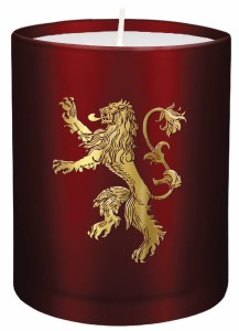 Game of Thrones Lannister Glass Candle