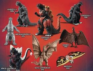 Classic Godzilla Mini Figure Blind Bag