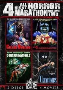 4 All Night Horror Marathon Vol 2 DVD