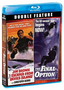 I Escaped From Devils Island The Final Option Blu ray