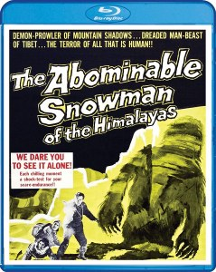 Abominable Snowman of the Himalayas Blu ray