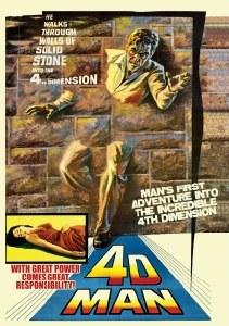 4D Man DVD