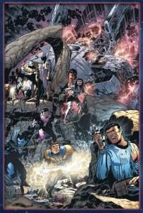 Star Trek Legion of Superheroes HC Var