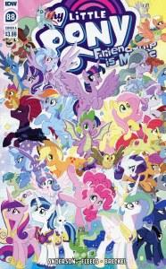 My Little Pony Friendship Is Magic #88 Cvr A Fleecs