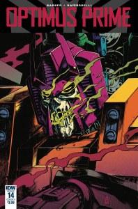 Optimus Prime #14 Cvr A