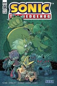 Sonic the Hedgehog #27 Cvr A Wells & Graham