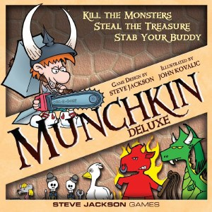 Munchkin Card Game Deluxe Ed