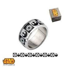 Star Wars Empire Rebel Ring Size 7