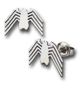 Spiderman Venom Silver Stud Earrings