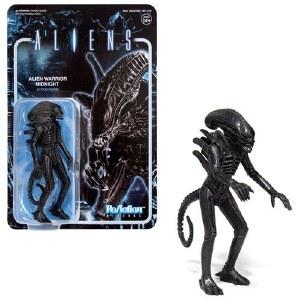Aliens Alien Warrior Midnight ReAction Figure