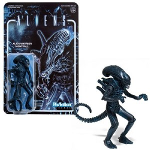 Aliens Alien Warrior Nightfall ReAction Figure