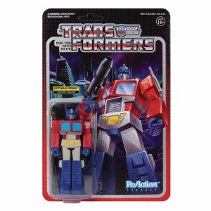 Transformers Optimus Prime ReAction Figure