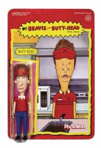 Beavis and Butthead Butthead Burger World ReAction Figure