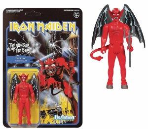 Iron Maiden ReAction The Number of the Beast The Beast Action Figure