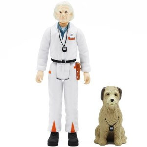 Back to the Future ReAction Doc Brown/Einstein Action Figure