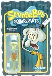 SpongeBob Squidward ReAction Figure