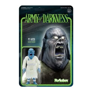 Army of Darkness ReAction Pit Witch Glow in the Dark Action Figure