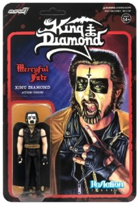 King Diamond Mercyful Fate ReAction King Diamond Figure