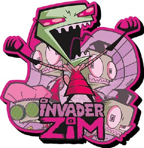 Invader Zim Chunky Magnet