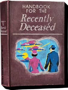 Beetlejuice Handbook For The Recently Deceased Chunky Magnet