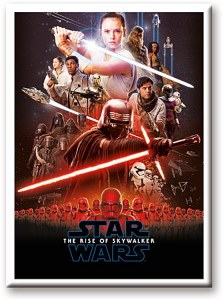 Star Wars Episode 9 Poster Magnet