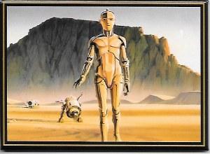 Star Wars C-3PO Concept Art Magnet