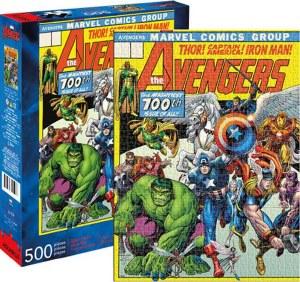 Avengers Cover 500 Piece Puzzle