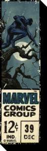 Marvel Retro Black Panther 12 Cent Chunky Magnet
